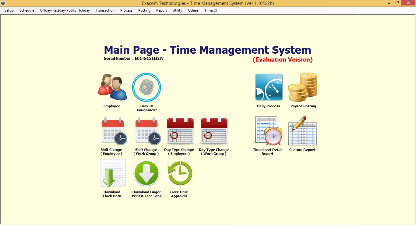 Time Attendance And Payroll Software Time Recorder Sdn Bhd